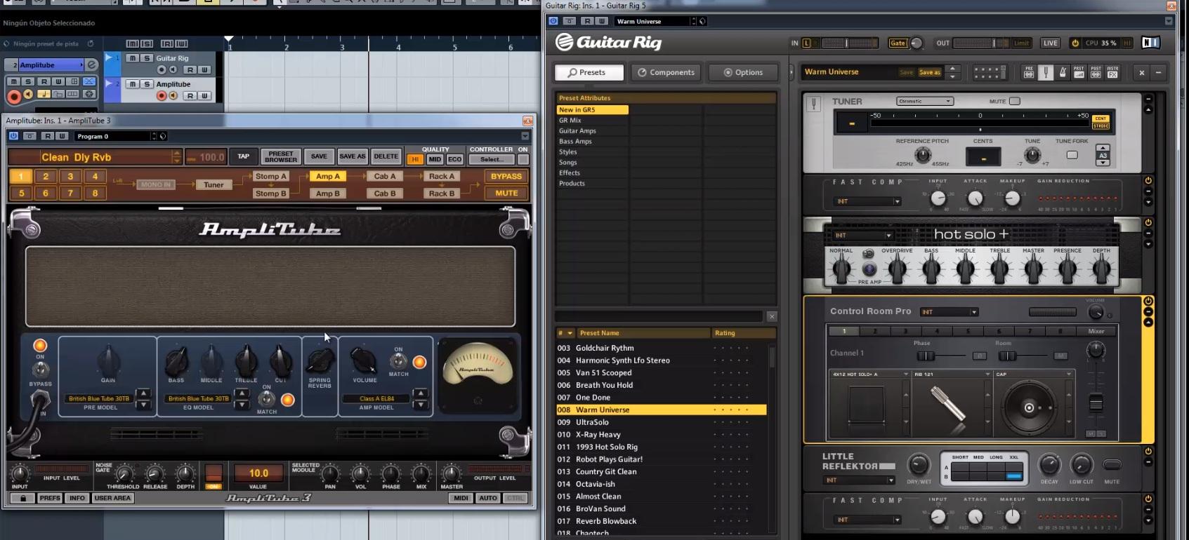 Guitar Rig 5 vs Amplitube 3, ¿Cual es el mejor multiefectos