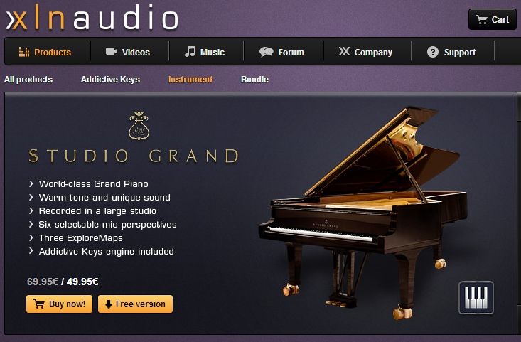 Addictive Keys Studio Grand : studio grand free con addictive keys de xln audio productor musical ~ Hamham.info Haus und Dekorationen